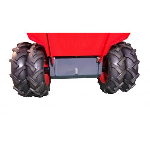 дополнительные передние колеса для мини самосвала