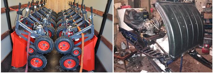 ремонт мини самосвалов в мастерской